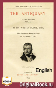 The Antiquary. Walter Scott (English)